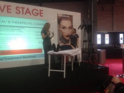 Advanced Treatments Live Stage - Professional Beauty London 2015